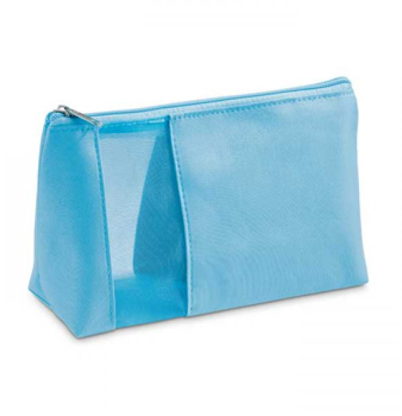 CT-92717S  Mesh Window Cosmetic Pouch Image 3of 5