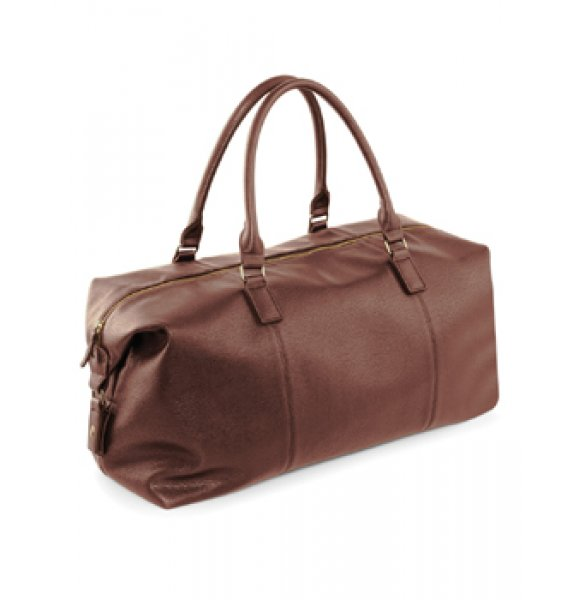 LE-878S  Leather-Look Holdall Image 1of 4