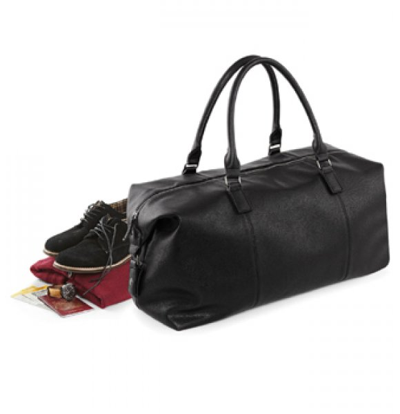 LE-878S  Leather-Look Holdall Image 0of 4