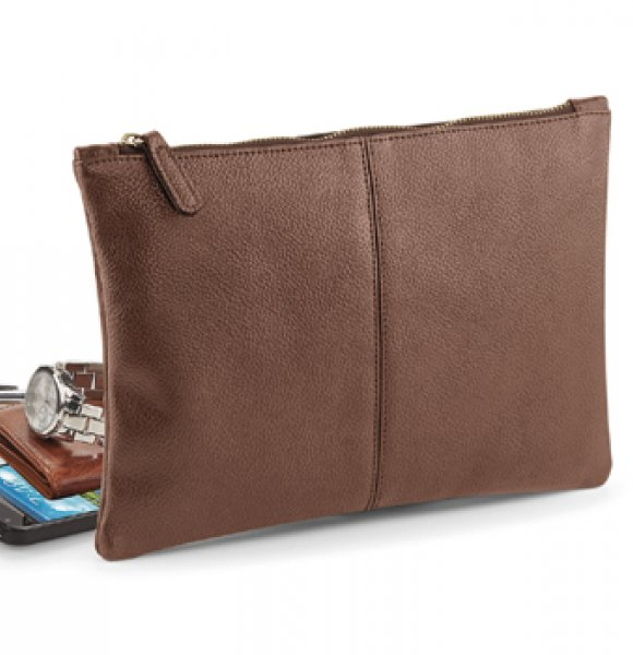 LE-889S  Leather-Look Accessory Pouch Image 0of 2