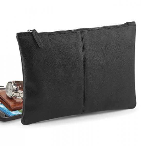 LE-889S  Leather-Look Accessory Pouch Image 1of 2