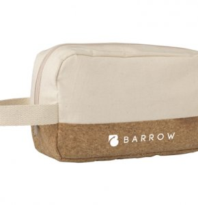image of CA-1249S  Canvas Cork Wash Bag