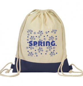 image of CA-850S  Cotton Drawstring Bag