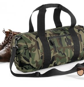 image of CAMO-173S  Camo Barrel Bag
