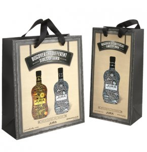 image of Laminated Paper Bags with Ribbon Handles