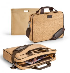 image of LT-92274S  Cork Laptop Bag
