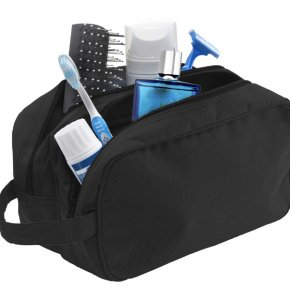 image of WA-6425S  Double Zipped Toiletry Bag