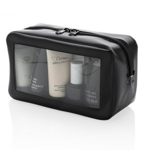 image of WA-820063S  Travel Washbag with Clear Window