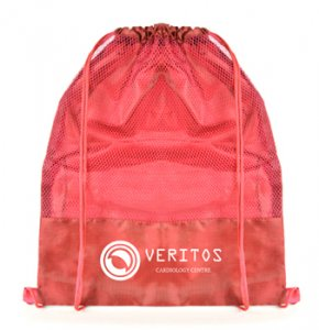 image of BP-612S Netted Drawstring Backpack